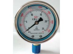 抗震压力表型号规格说明